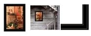 "Trendy Decor 4U Vintage-Like Skates by Anthony Smith, Ready to hang Framed Print, Black Frame, 15"" x 19"""