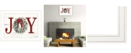 "Trendy Decor 4U Christmas Joy by Lori Deiter, Ready to hang Framed Print, White Frame, 21"" x 15"""