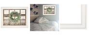 "Trendy Decor 4U Country Gazing by Lori Deiter, Ready to hang Framed Print, White Window-Style Frame, 19"" x 15"""