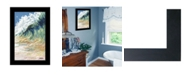 "Trendy Decor 4U Trendy Decor 4U Big Wave by Margaret Juul, Ready to hang Framed Print, Black Frame, 15"" x 21"""
