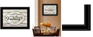 """Trendy Decor 4U Our Family Values by Cindy Jacobs, Ready to hang Framed Print, Black Frame, 19"""" x 15"""""""