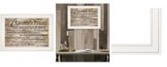 """Trendy Decor 4U A Farmer's Prayer by Cindy Jacobs, Ready to hang Framed Print, White Frame, 21"""" x 15"""""""