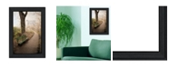 "Trendy Decor 4U Through the Mist By Robin-Lee Vieira, Printed Wall Art, Ready to hang, Black Frame, 15"" x 21"""