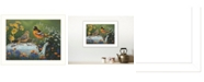 "Trendy Decor 4U Tea Time by Kim Norlien, Ready to hang Framed Print, White Frame, 14"" x 18"""