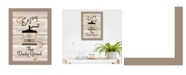 """Trendy Decor 4U The Daily Grind by Millwork Engineering, Ready to hang Framed Print, Taupe Frame, 10"""" x 14"""""""