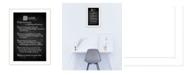 "Trendy Decor 4U Believe By Trendy Decor4U, Printed Wall Art, Ready to hang, White Frame, 14"" x 10"""
