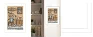 "Trendy Decor 4U Family by Mary Ann June, Ready to hang Framed Print, White Frame, 14"" x 20"""