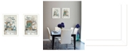 """Trendy Decor 4U Home Sweet Home Collection By Mary June, Printed Wall Art, Ready to hang, White Frame, 28"""" x 20"""""""