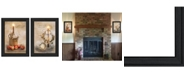 """Trendy Decor 4U Light a Candle Collection By Robin-Lee Vieira, Printed Wall Art, Ready to hang, Black Frame, 21"""" x 15"""""""