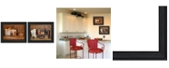 """Trendy Decor 4U Trendy Decor 4U Baking Supplies Collection By Billy Jacobs, Printed Wall Art, Ready to hang, Black Frame, 18"""" x 14"""""""