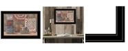 "Trendy Decor 4U God Bless America by Pam Britton, Ready to hang Framed Print, Black Frame, 19"" x 15"""