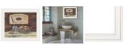 "Trendy Decor 4U HANDMADE SOAPS-by Pam Britton, Ready to hang Framed print, White Frame, 17"" x 14"""
