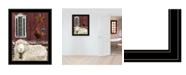 "Trendy Decor 4U Good Morning by Billy Jacobs, Ready to hang Framed Print, Black Frame, 21"" x 27"""