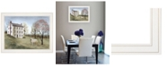 """Trendy Decor 4U Spring at White House Farm by Billy Jacobs, Ready to hang Framed Print, White Frame, 27"""" x 21"""""""