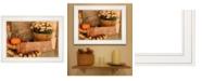 "Trendy Decor 4U Autumn Harvest by Anthony Smith, Ready to hang Framed Print, White Frame, 19"" x 15"""