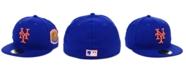 New Era New York Mets World Series Patch 59FIFTY Cap