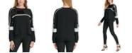DKNY Sequined Sweatshirt