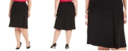 Kasper Plus Size A-Line Skirt