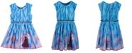 Evy of California Disney Toddler Girls Anna & Elsa Landscape Dress
