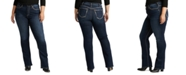 Silver Jeans Co. Trendy Plus Size Calley Slim Bootcut Jeans
