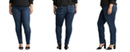 Silver Jeans Co. Trendy Plus Size Elyse Skinny Jeans