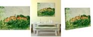 "Creative Gallery Sambuca di Sicily Village 24"" x 20"" Canvas Wall Art Print"