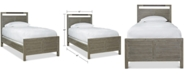 Furniture Scrimmage Twin Panel Bed