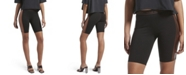 Kendall + Kylie Faux Leather Bike Shorts