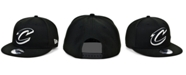 New Era Cleveland Cavaliers Black White 9FIFTY Snapback Cap