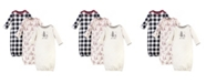Touched by Nature Baby Boy and Girl Gowns, Set of 3