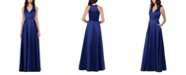 XSCAPE Satin Ball Gown