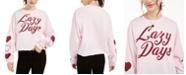 Mad Engine Juniors' Graphic-Print Long-Sleeve Cotton T-Shirt