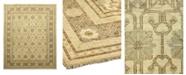"Timeless Rug Designs CLOSEOUT! One of a Kind OOAK915 Hazelnut 6'3"" x 8'10"" Area Rug"