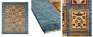 """Timeless Rug Designs CLOSEOUT! One of a Kind OOAK1049 Gray 5'9"""" x 7'10"""" Area Rug"""