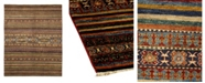 """Timeless Rug Designs CLOSEOUT! One of a Kind OOAK1058 Caramel 5'10"""" x 8'3"""" Area Rug"""