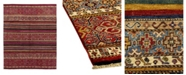 "Timeless Rug Designs CLOSEOUT! One of a Kind OOAK1133 Red 5'8"" x 8'10"" Area Rug"