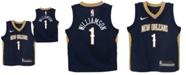 Nike Little Boys Zion Williamson New Orleans Pelicans Icon Replica Jersey
