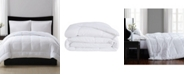 London Fog Embossed Dot Seersucker Down Alternative Comforter, Full/Queen