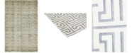"""Timeless Rug Designs CLOSEOUT! One of a Kind OOAK409 Ivory 6' x 9'4"""" Area Rug"""