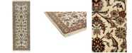 """Timeless Rug Designs CLOSEOUT! One of a Kind OOAK608 Ivory 2'4"""" x 6'6"""" Runner Rug"""
