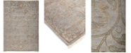 """Timeless Rug Designs CLOSEOUT! One of a Kind OOAK778 Silver 6'3"""" x 9' Area Rug"""