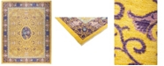"Timeless Rug Designs CLOSEOUT! One of a Kind OOAK874 Yellow 9'1"" x 11'7"" Area Rug"