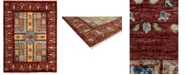 """Timeless Rug Designs One of a Kind OOAK3778 Cherry 5'6"""" x 7'7"""" Area Rug"""