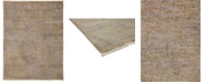 "Timeless Rug Designs CLOSEOUT! One of a Kind OOAK3342 Hazelnut 4'2"" x 5'5"" Area Rug"