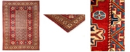 """Timeless Rug Designs CLOSEOUT! One of a Kind OOAK3136 Orange 5'1"""" x 6'10"""" Area Rug"""