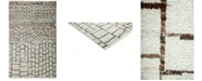"Timeless Rug Designs CLOSEOUT! One of a Kind OOAK3125 Silver 3'10"" x 6'3"" Area Rug"
