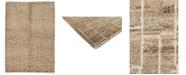 "Timeless Rug Designs One of a Kind OOAK3941 Mocha 6'6"" x 9' Area Rug"