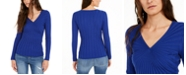 INC International Concepts INC Ribbed Pullover Sweater, Created For Macy's