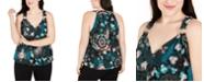 INC International Concepts INC Plus Size Tie-Dye Surplice Tank Top, Created for Macy's