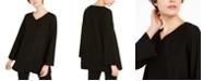 Eileen Fisher V-Neck Side-Slit Tunic